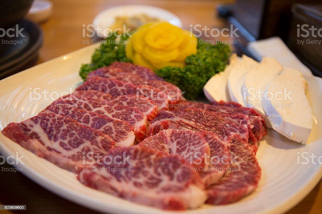 Korean Beef Barbecue stock photo