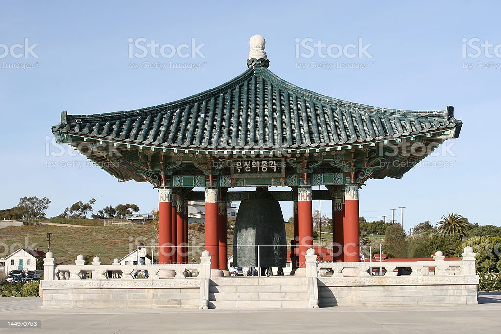 Korean Bell of Friendship. royalty-free stock photo