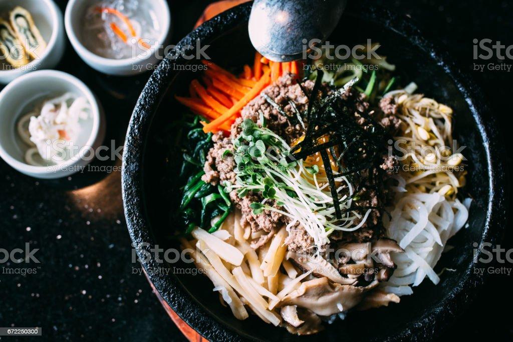 Korean Bibimbap stock photo