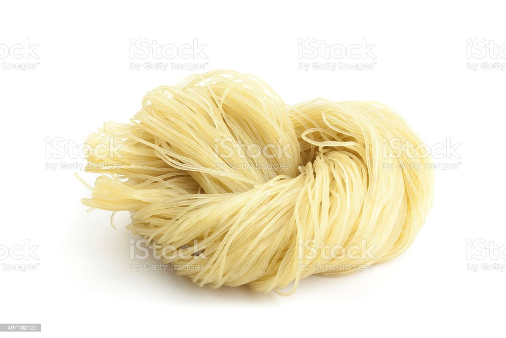 Korean Cold Noodle stock photo