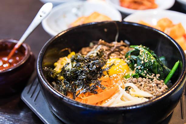 Korean Dish- Bibimbap – Foto
