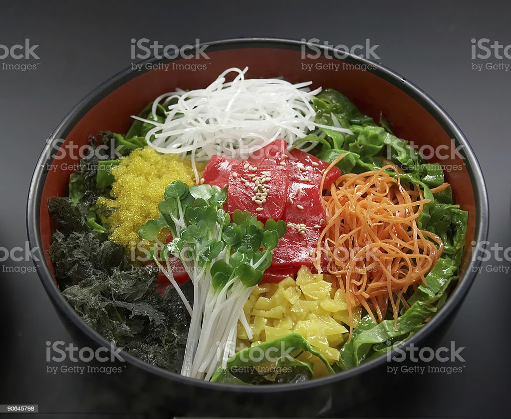 Korean dish royalty-free stock photo