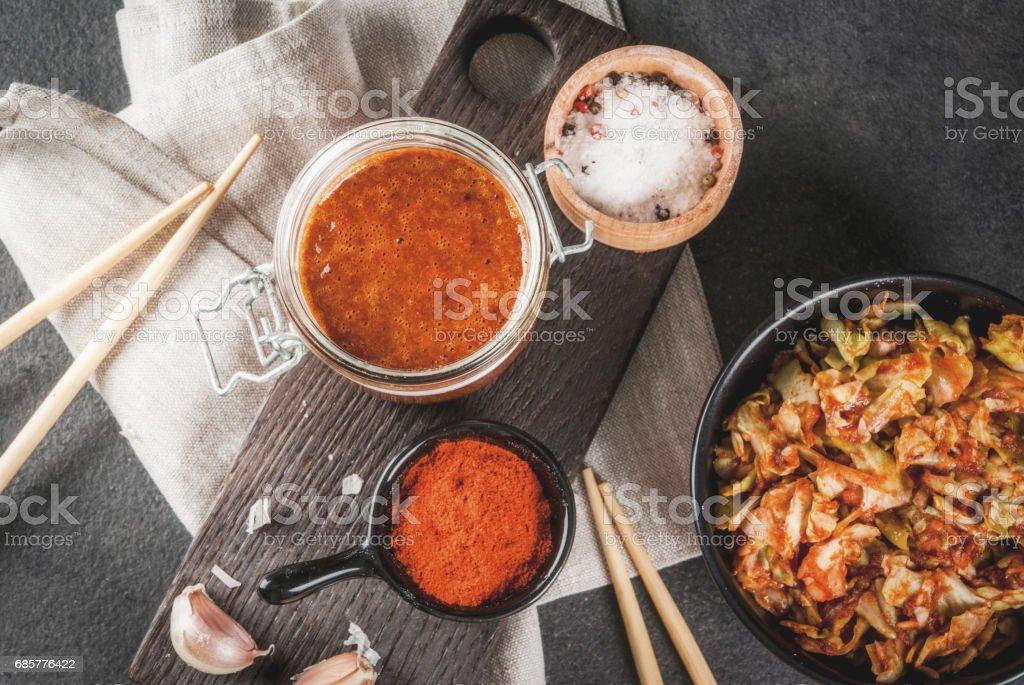 Nourriture coréenne, du kimchi photo libre de droits