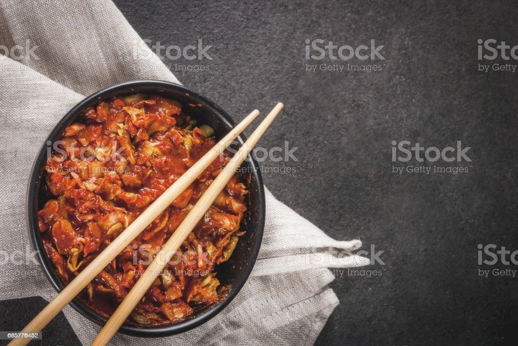 Korean food, kimchi royalty-free stock photo