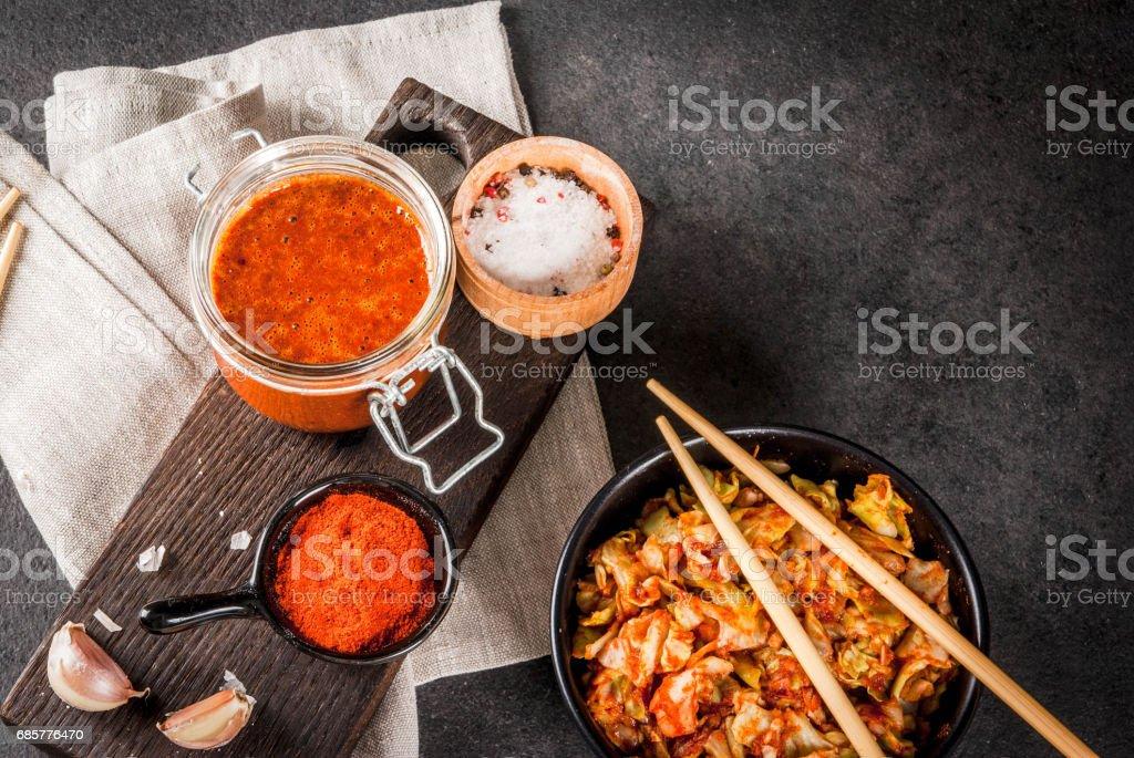 Korean food, kimchi photo libre de droits