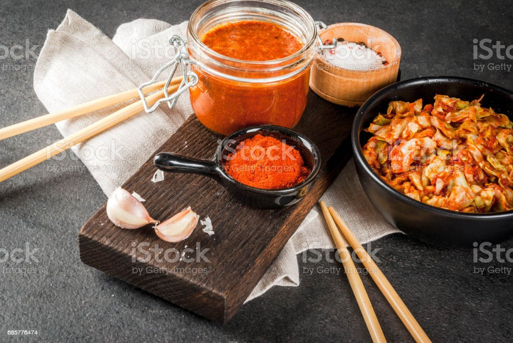 Korean food, kimchi royalty-free stock photo