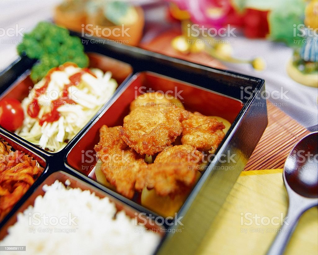 Korean Food royalty-free stock photo