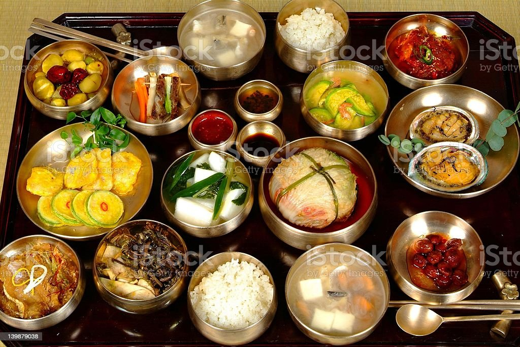 Korean Food royalty-free stock photo