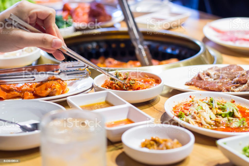Korean food stock photo