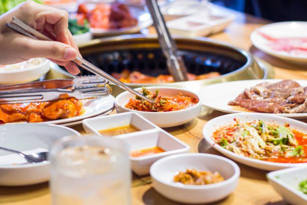 韓国料理 - 朝鮮半島 ストックフォトと画像