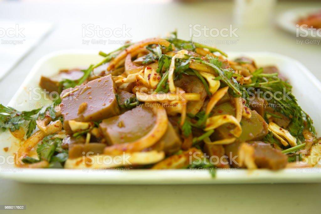 Koreanische food  - Lizenzfrei Fotografie Stock-Foto