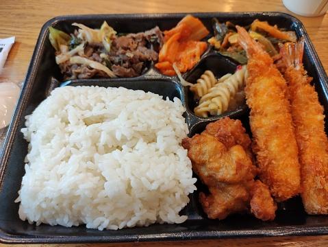 Korean franchise lunch box