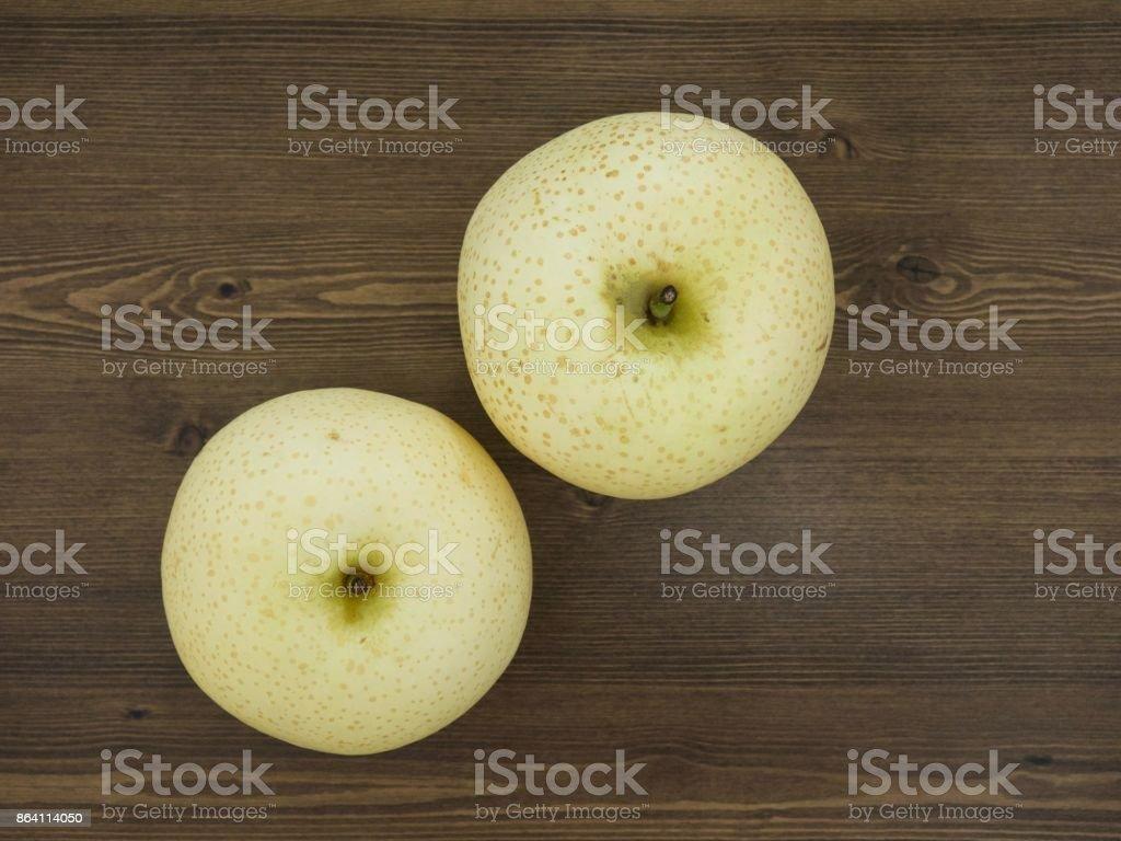 Korean Fruit Pear royalty-free stock photo