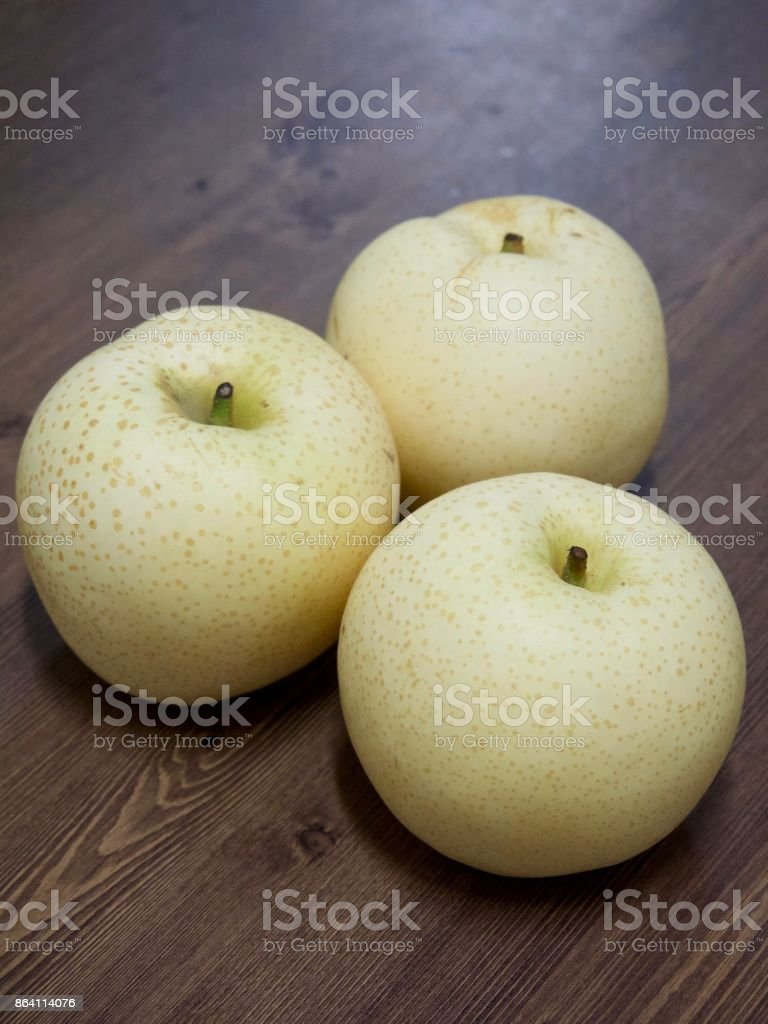 Korean Fruit Pear royalty-free stock photo