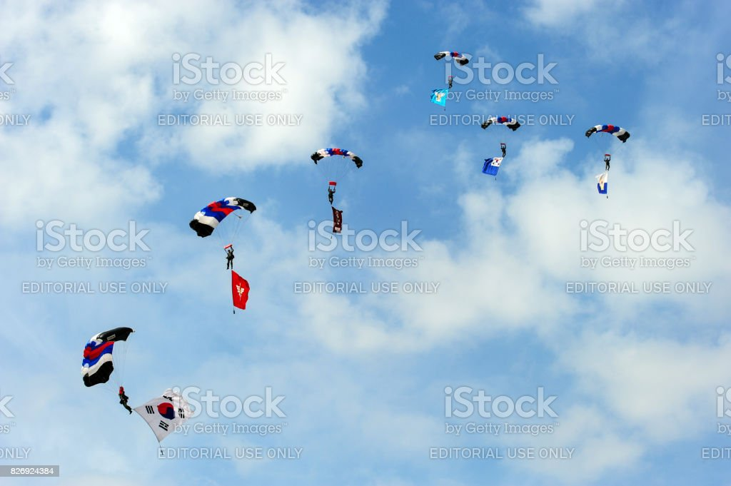 Korean Military Soldiers on stock photo