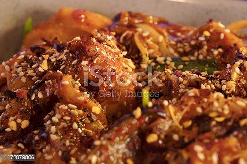 Korean Seafood Close-up