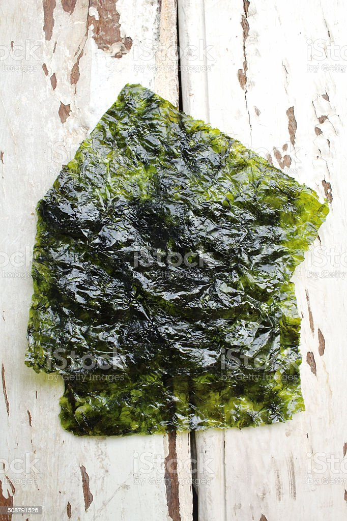 Korean seaweed stock photo
