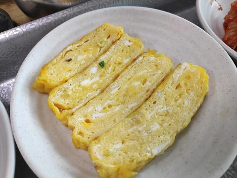 Korean style egg rolls