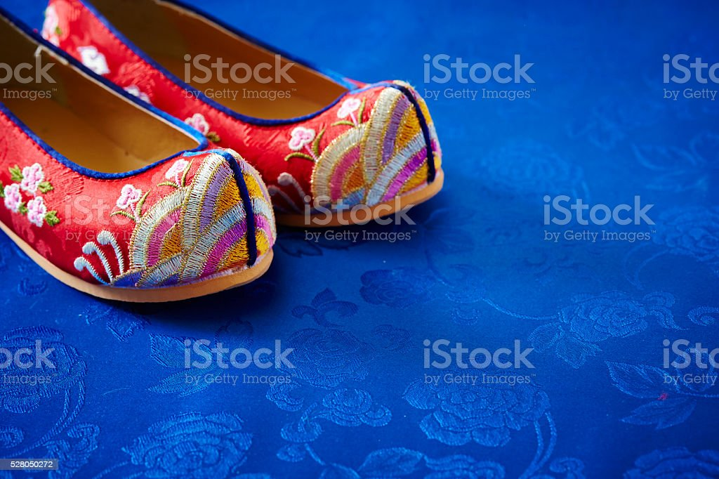 Korean traditional craft stock photo