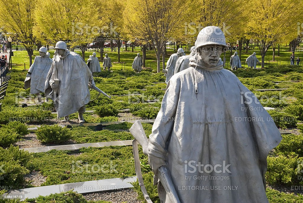 Koreakriegs-Memorial – Foto