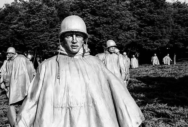 Zugtruppen-Korean War Memorial – Foto