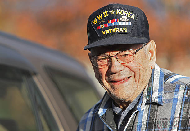 Koreakrieg militärische Veteranen des Zweiten Weltkriegs – Foto
