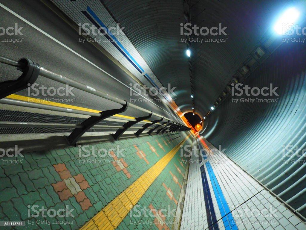 Korea's Tunnel royalty-free stock photo