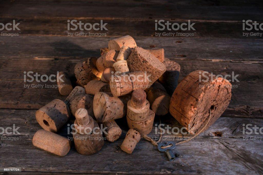 Korken stock photo