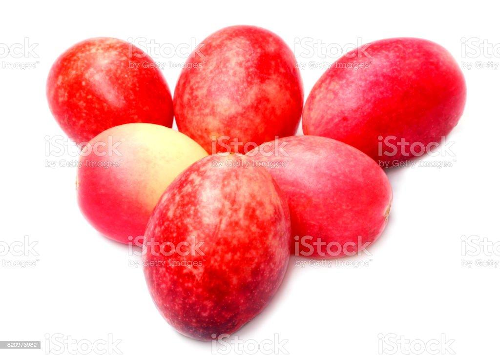 Koromcha or Carandas fruits stock photo