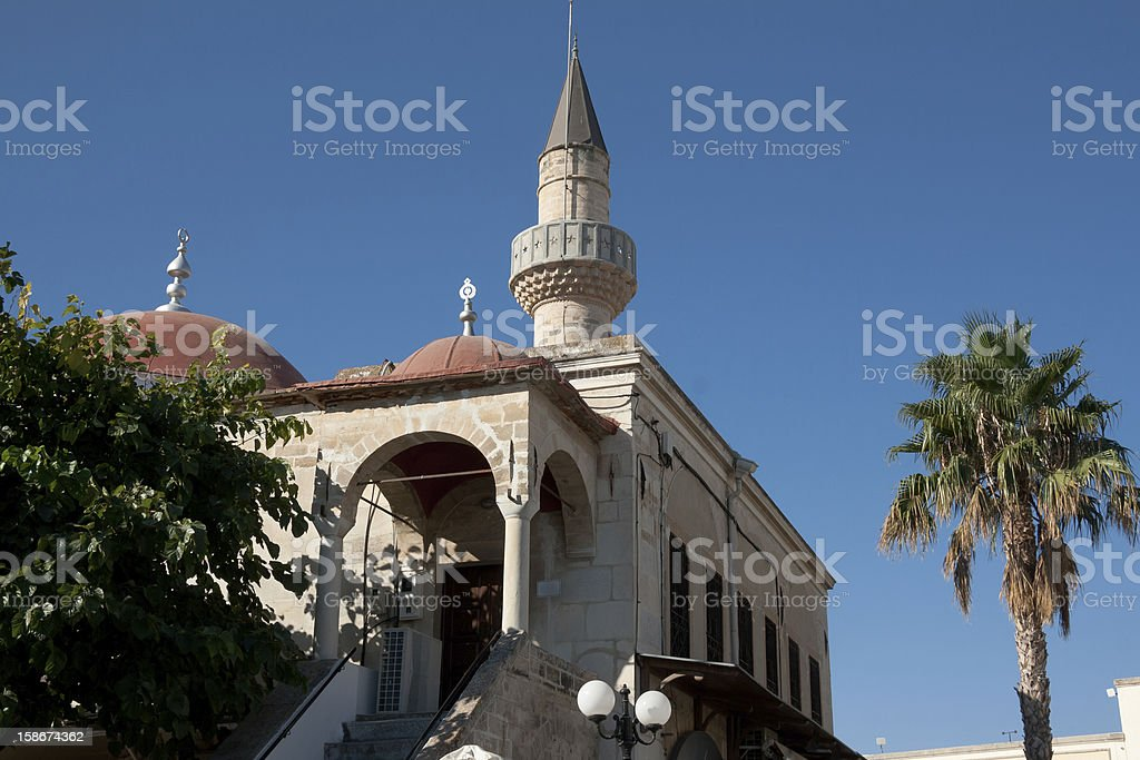 Kos Town - The mosque at Eleftherias square royalty-free stock photo