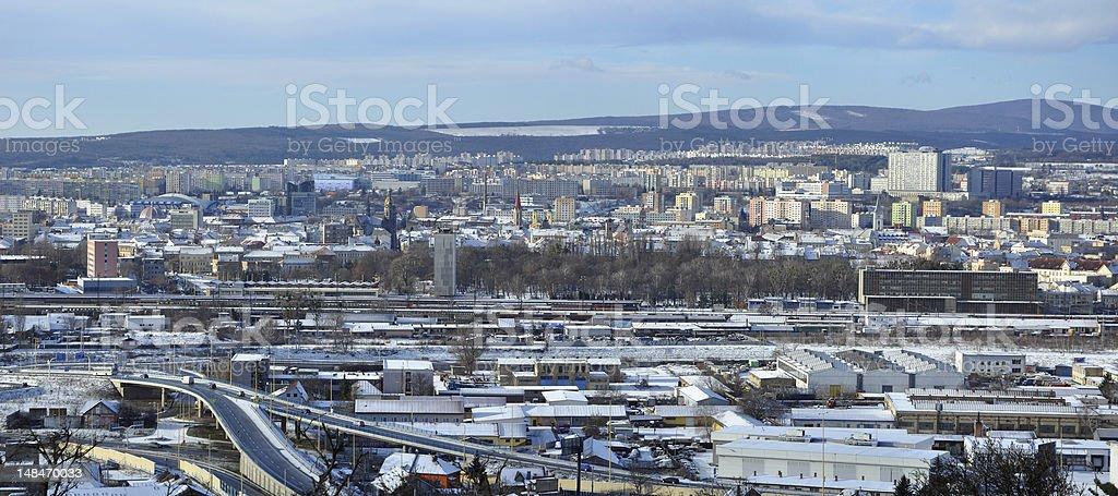 Kosice cityscape stock photo