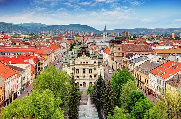 코시샤-슬로바키아 - 슬로바키아 뉴스 사진 이미지