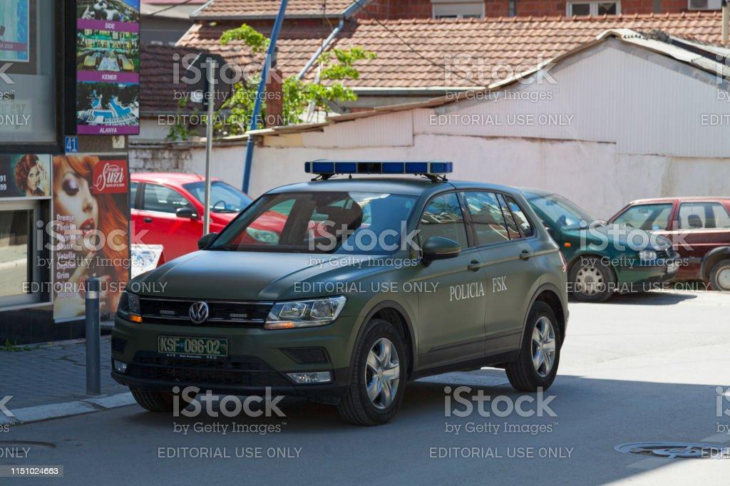 Kosovo Security Force stock photo