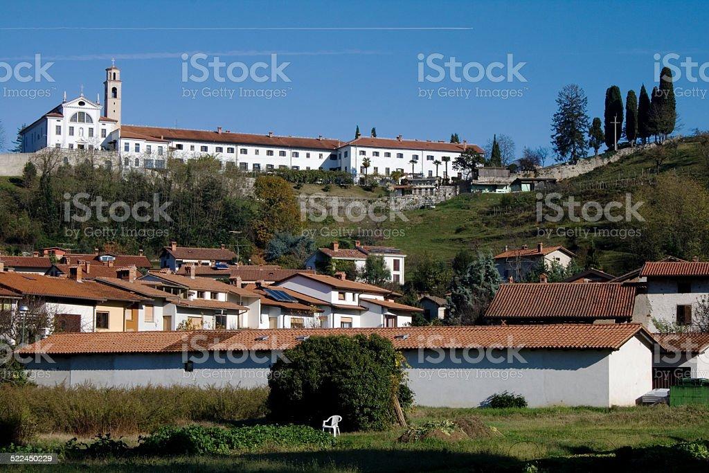 kostanjevica monastery stock photo