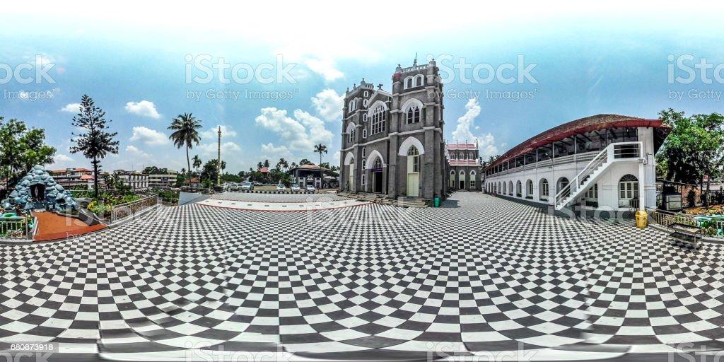kothamangalam cathedral church stock photo