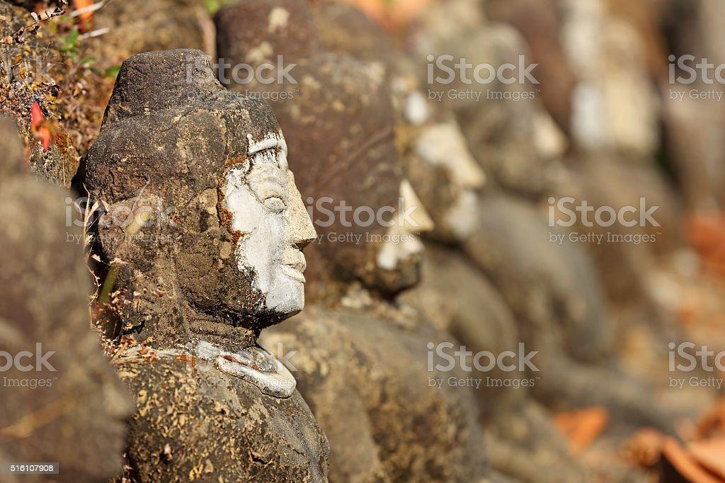 Kothaung Temple, Mrauk U ,Rakhine state ,Myanmar stock photo