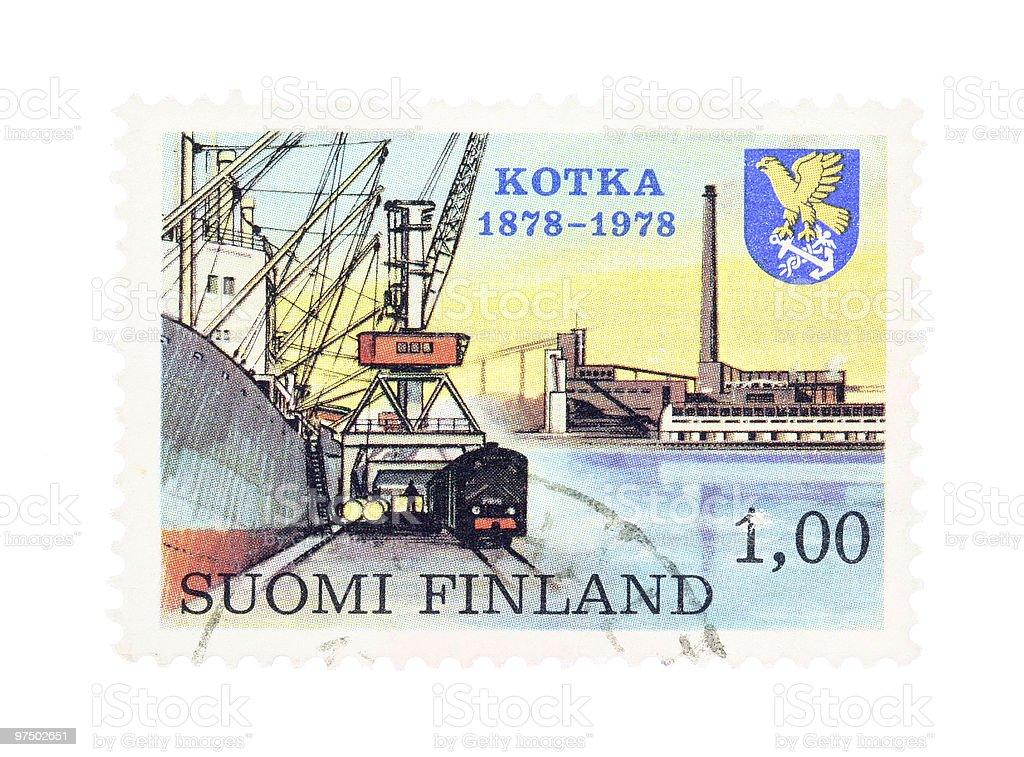 Kotka royalty-free stock photo