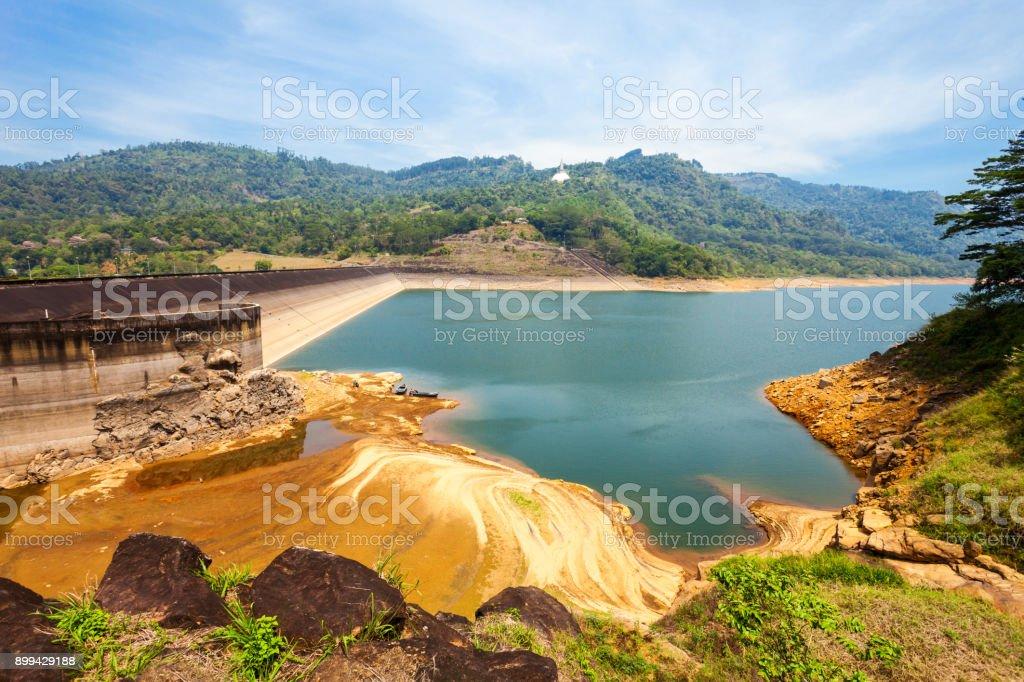 Kotmale Dam, Sri Lanka stock photo