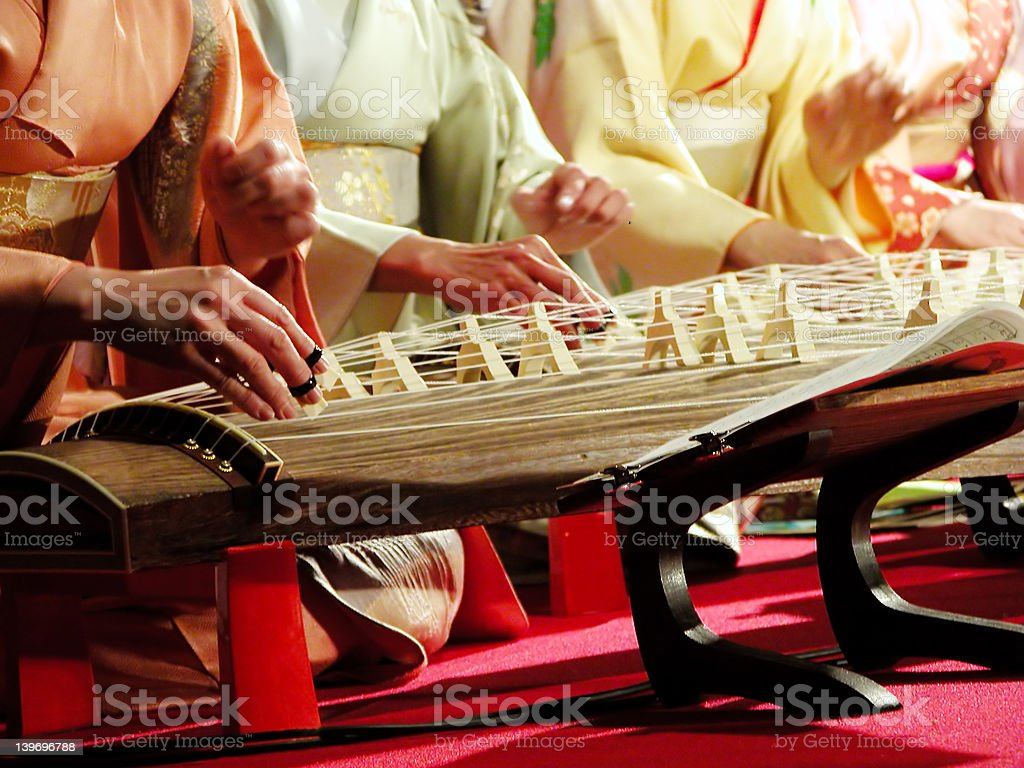 Koto band stock photo