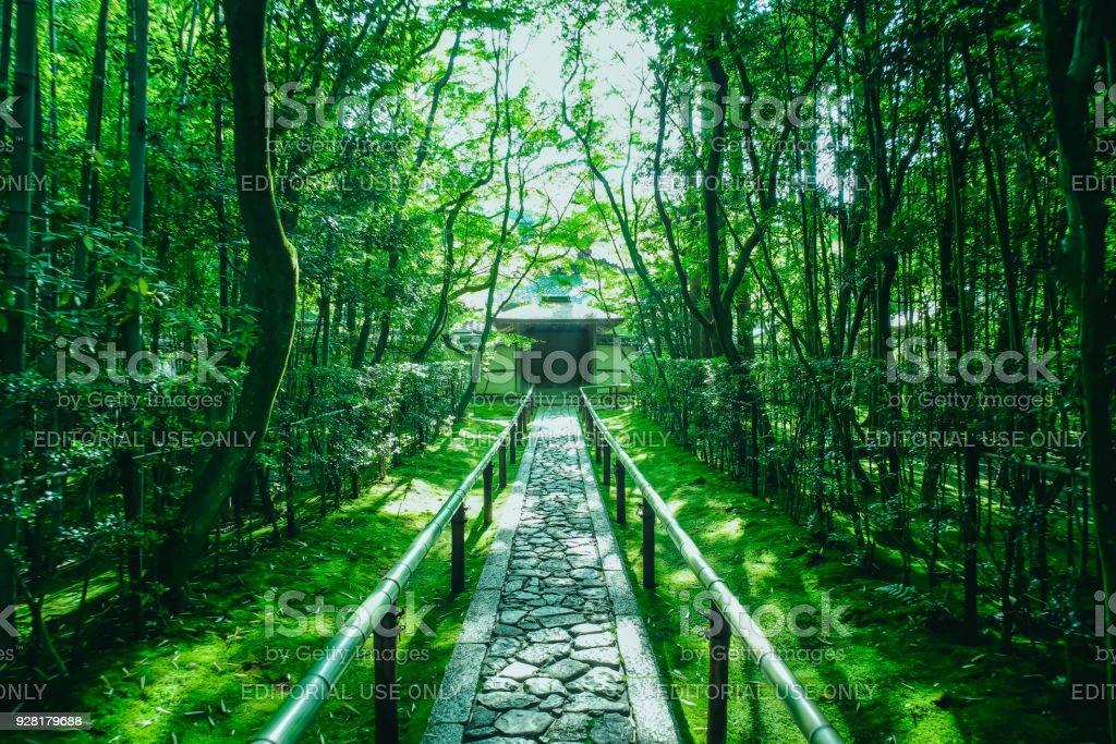 Kotoin Temple (Koto-in) of Daitokuji Temple (Daitoki-ji) stock photo