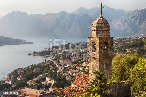istock Kotor Cityscape and Church of Our Lady of Remedy 843319324