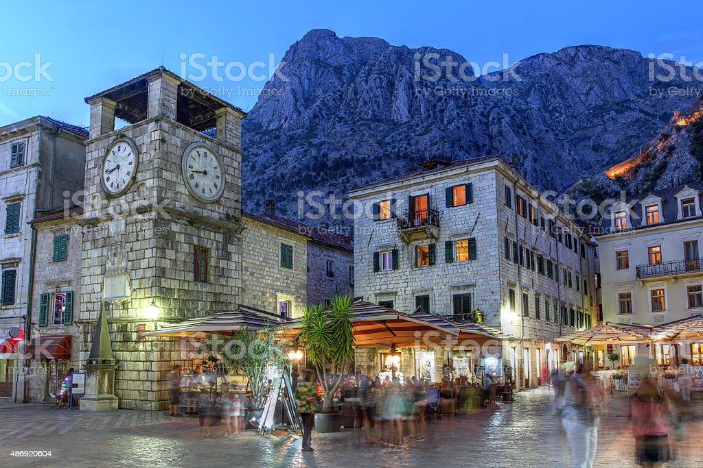Kotor, Montenegro stock photo