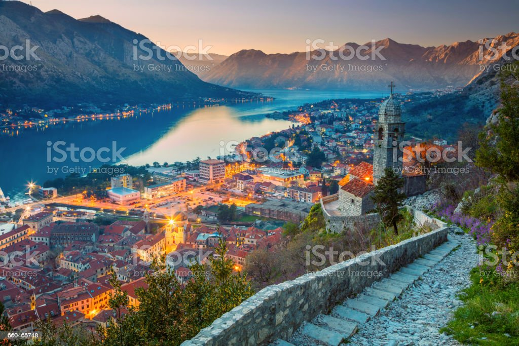 Kotor, Montenegro. stock photo