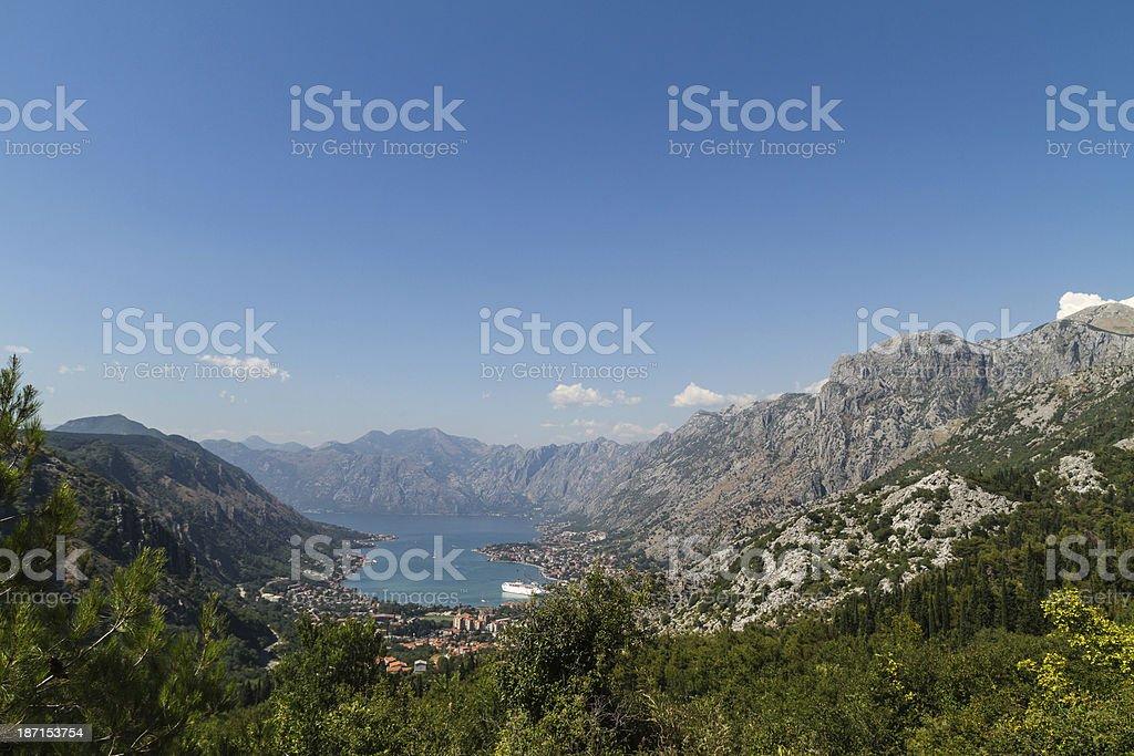 Kotor royalty-free stock photo