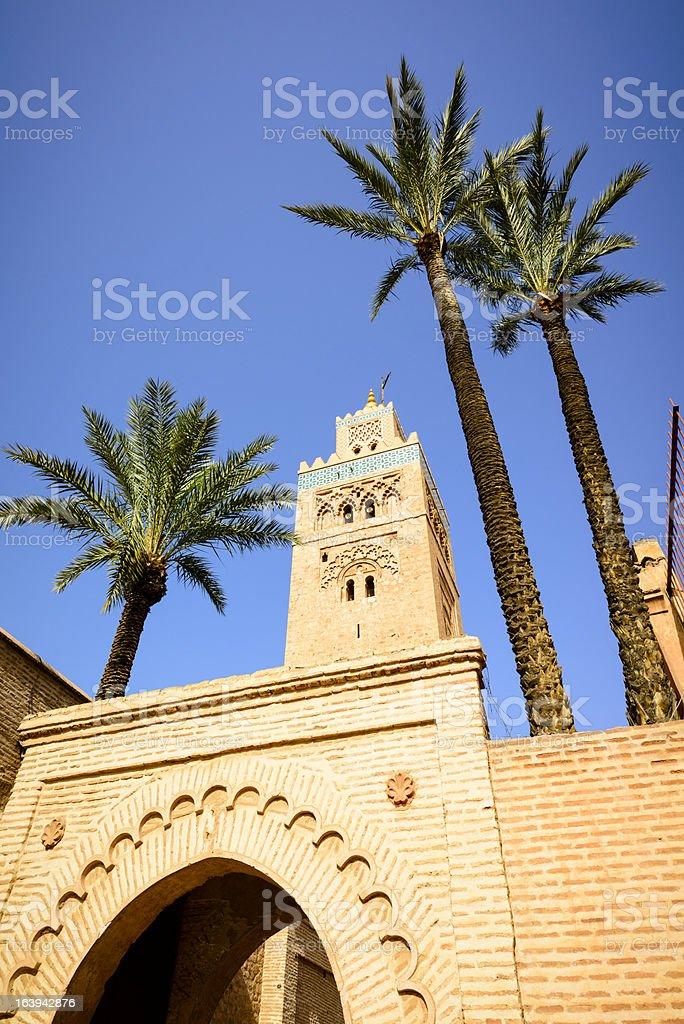 Koutoubia Marrakech stock photo