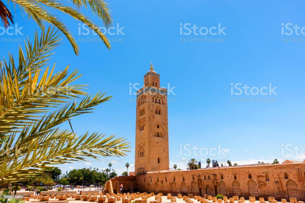 Koutoubia-Moschee in Marrakesch, Marokko – Foto