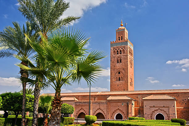 Koutoubia Mosque in the southwest medina quarter of Marrakesh – Foto