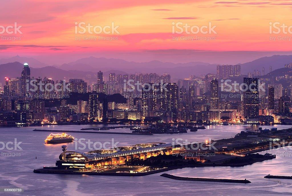 Kowloon West, Hong Kong stock photo