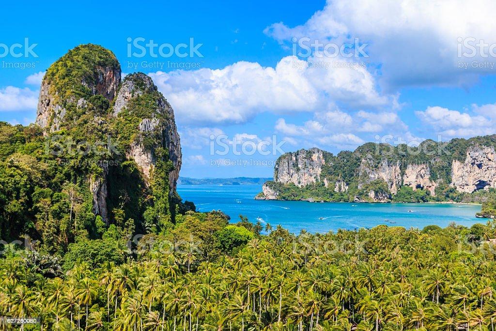 Krabi province, Thailand. stock photo