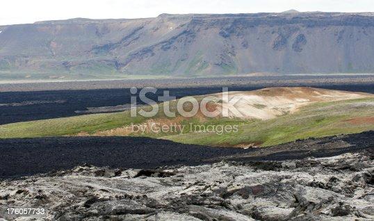 istock Krafla lavafield in Iceland 176057733